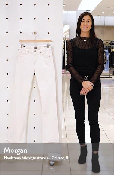 Emannuelle High Waist Slim Leg Bootcut Jeans, sales video thumbnail