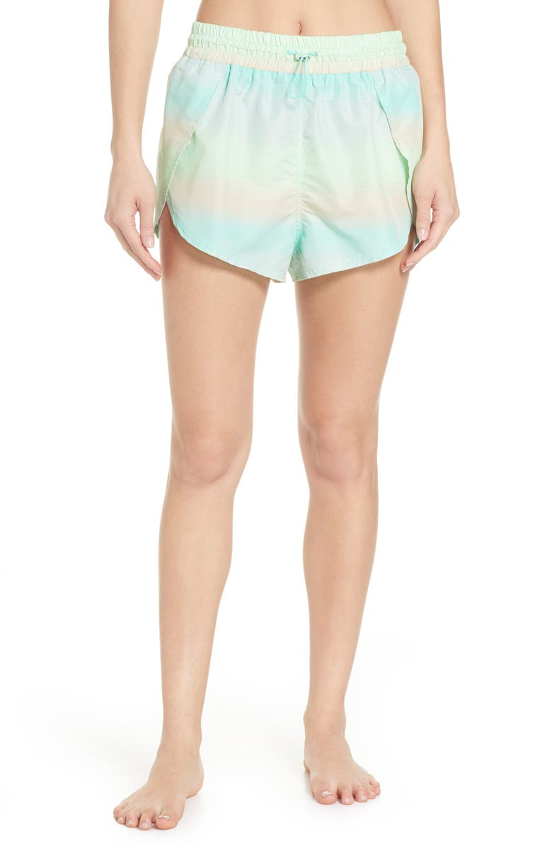 FREE PEOPLE FP MOVEMENT Free People Movement Fade Into You Shorts, Main, color, 001