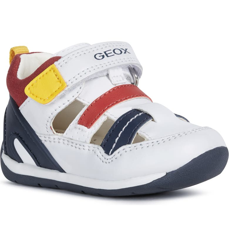 GEOX Each 32 Sneaker, Main, color, NAVY/ WHITE