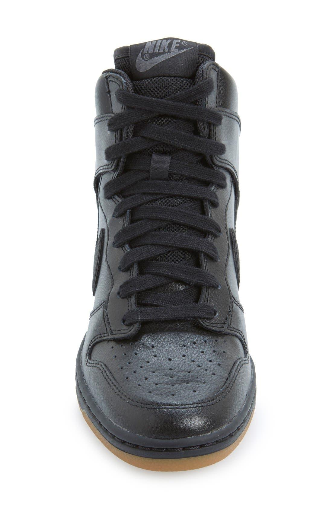 ,                             'Dunk Sky Hi - Essential' Wedge Sneaker,                             Alternate thumbnail 24, color,                             014