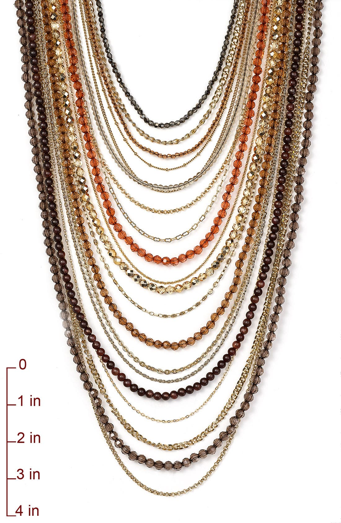 ,                             Beaded Long Multistrand Necklace,                             Alternate thumbnail 10, color,                             298