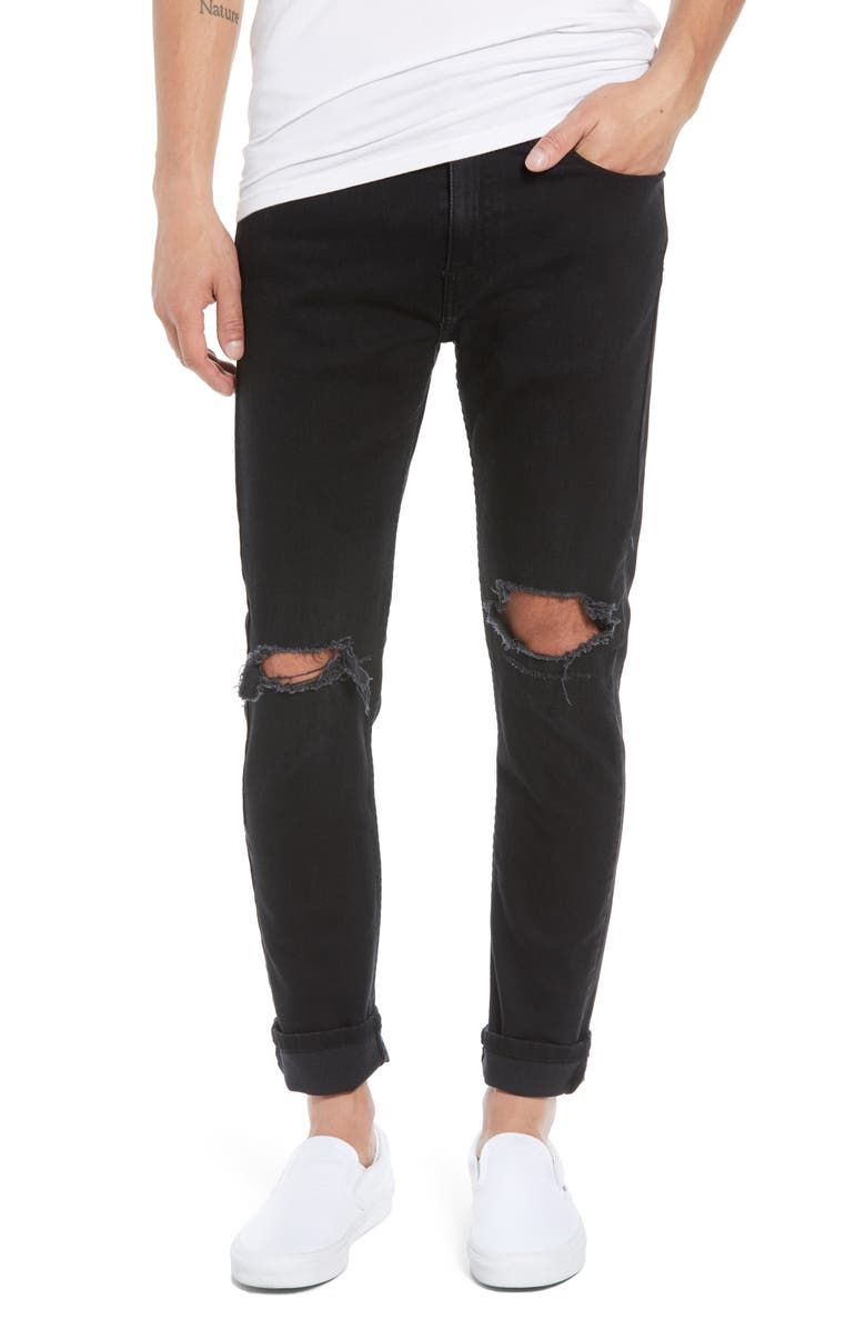 LEVI'S<SUP>®</SUP> 510<sup>™</sup> Skinny Fit Jeans, Main, color, 001