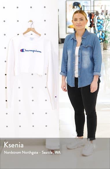 Reverse Weave<sup>®</sup> Crop Sweatshirt, sales video thumbnail