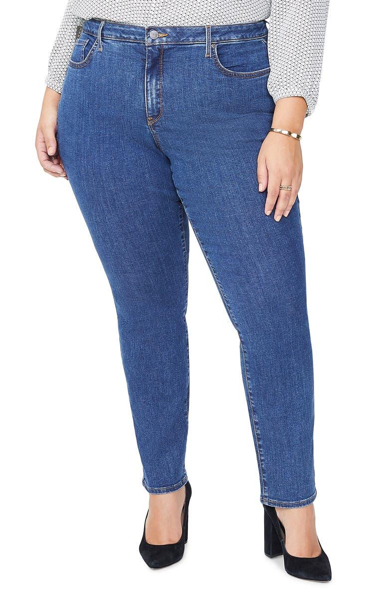 NYDJ Sheri Slim Jeans, Main, color, 420
