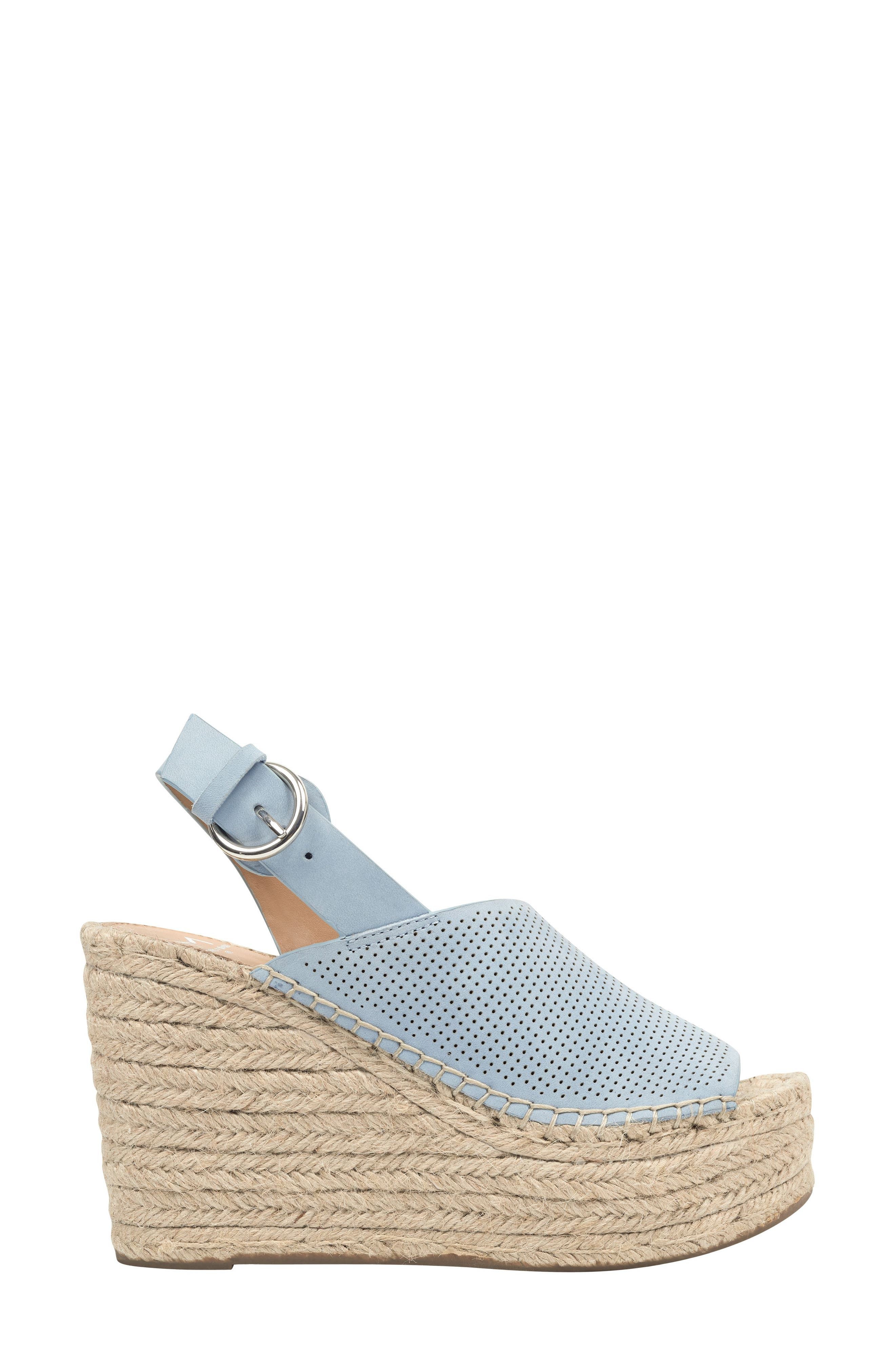 ,                             Andela Slingback Espadrille Wedge,                             Alternate thumbnail 3, color,                             LIGHT BLUE NUBUCK