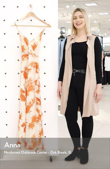 Floral Ruffle Detail Maxi Dress, sales video thumbnail