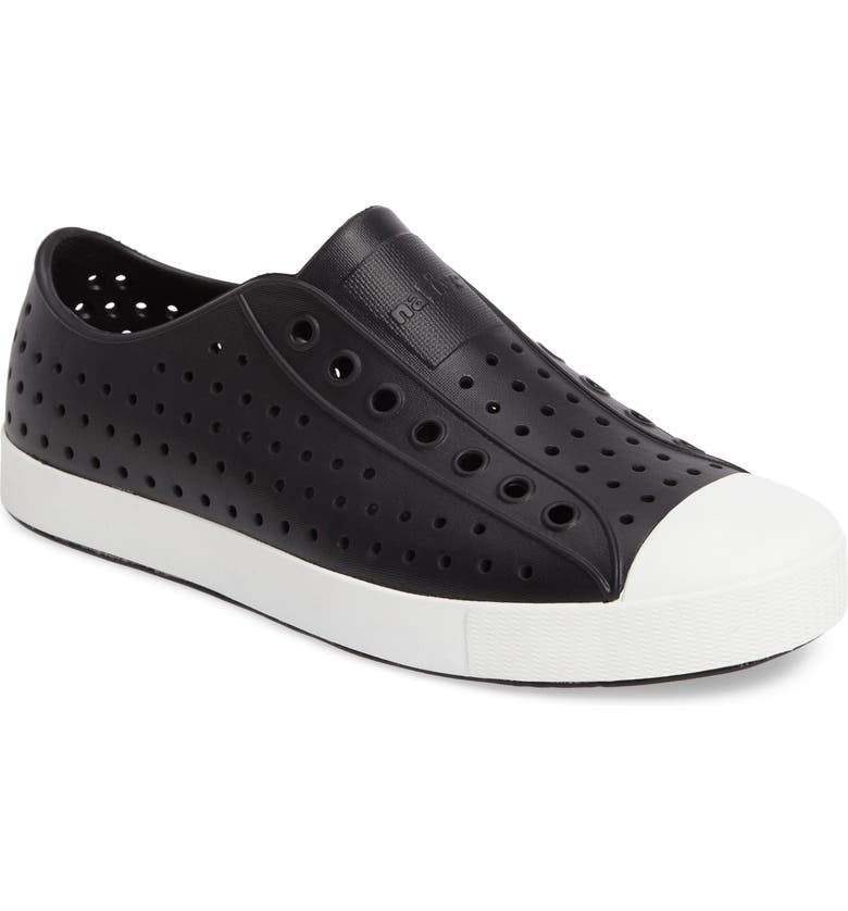 55abfbcb 'Jefferson' Slip-On, Main, color, JIFFY BLACK/ SHELL WHITE '