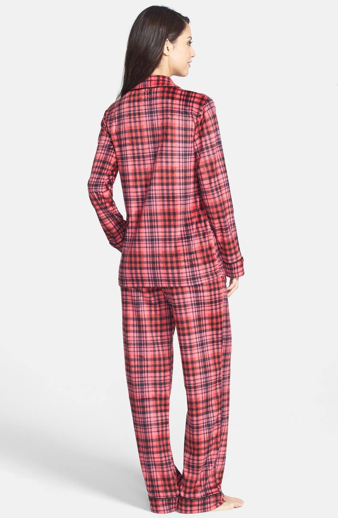 ,                             Long Sleeve Microfleece Pajamas,                             Alternate thumbnail 36, color,                             621