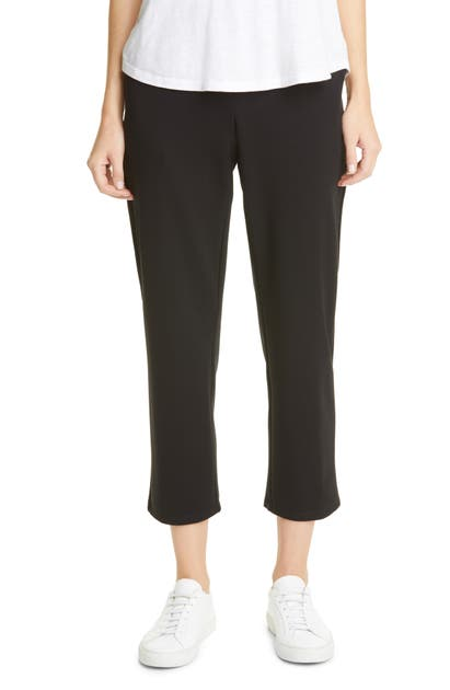 EILEEN FISHER SLOUCHY TENCEL LYOCELL BLEND ANKLE PANTS
