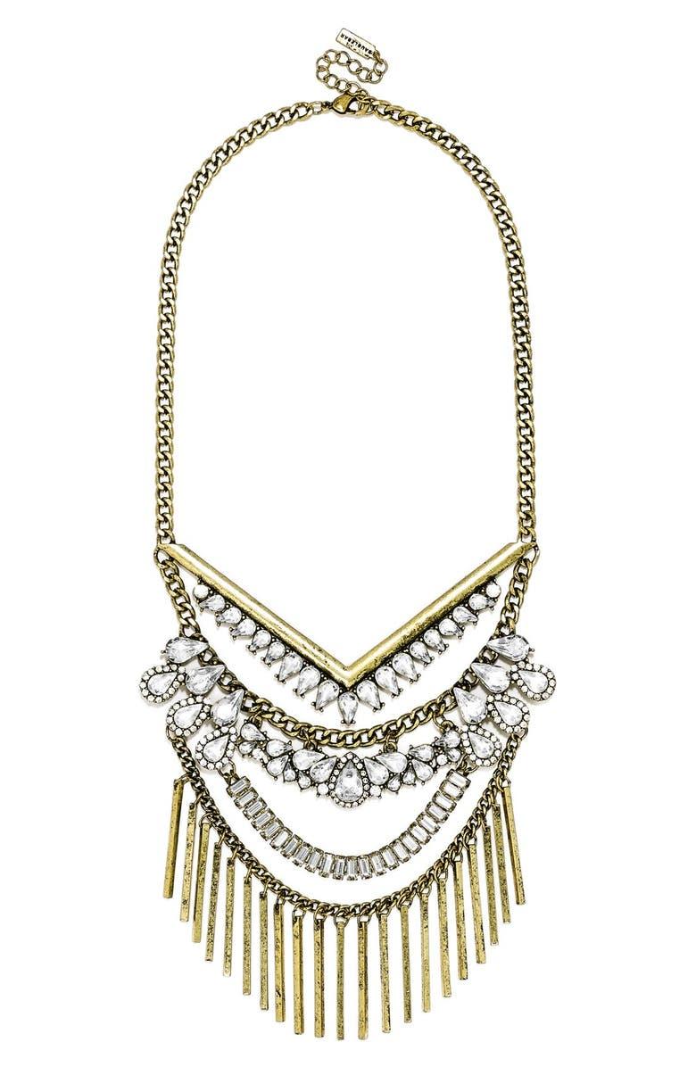 BAUBLEBAR 'Cieia' Bib Necklace, Main, color, 710