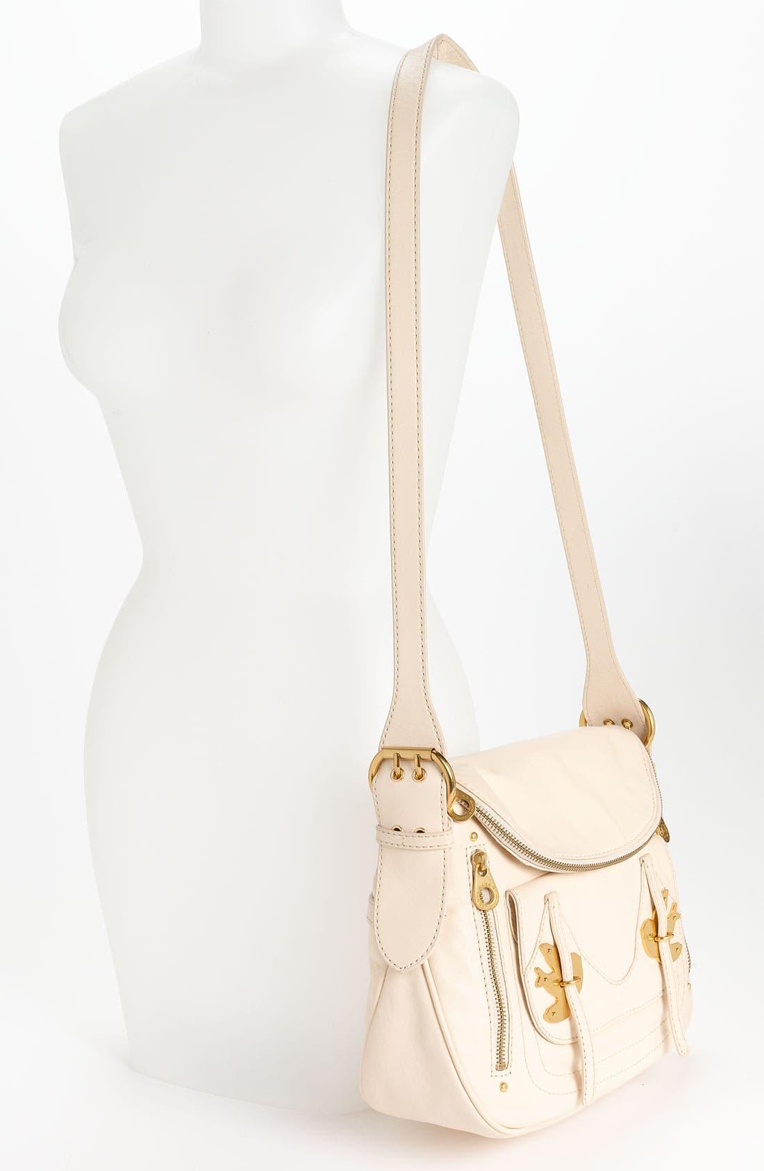 ,                             MARC BY MARC JACOBS 'Petal to the Metal - Natasha' Flap Crossbody Bag, Medium,                             Alternate thumbnail 26, color,                             123