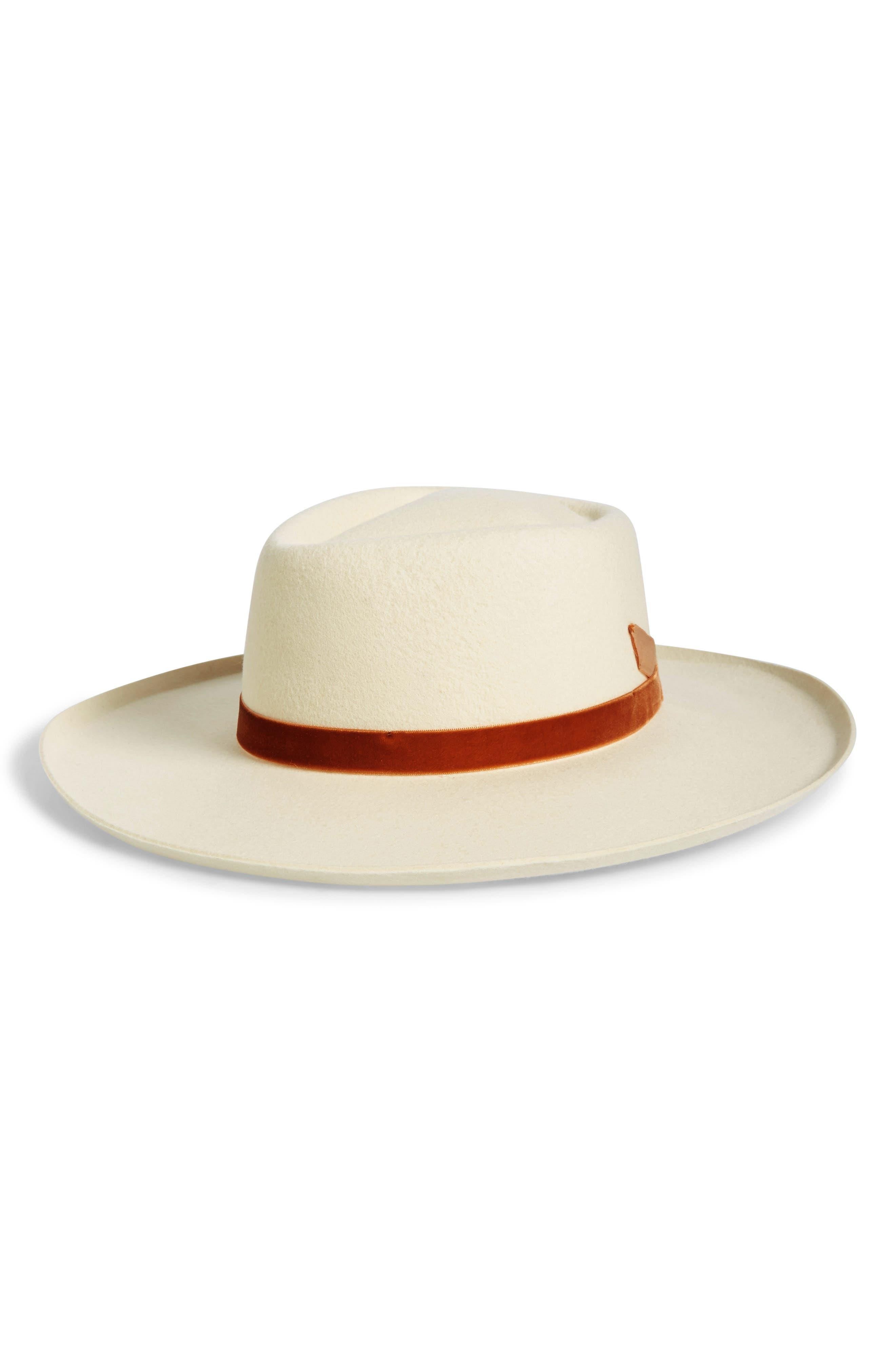 Val Diamond Crown Wool Hat