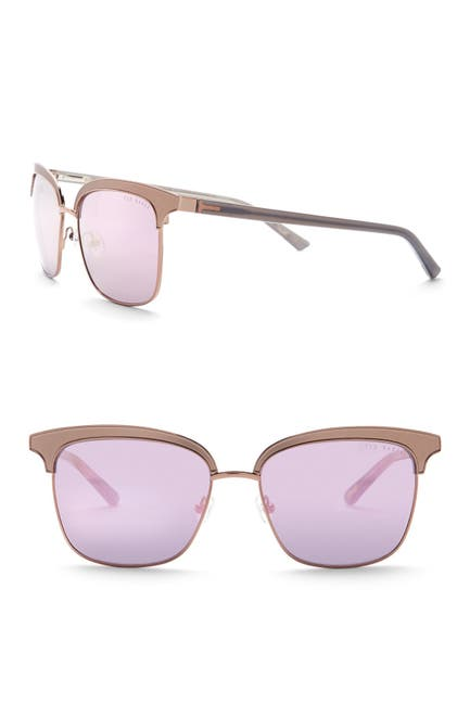 Image of Ted Baker London 55mm Clubmaster Sunglasses
