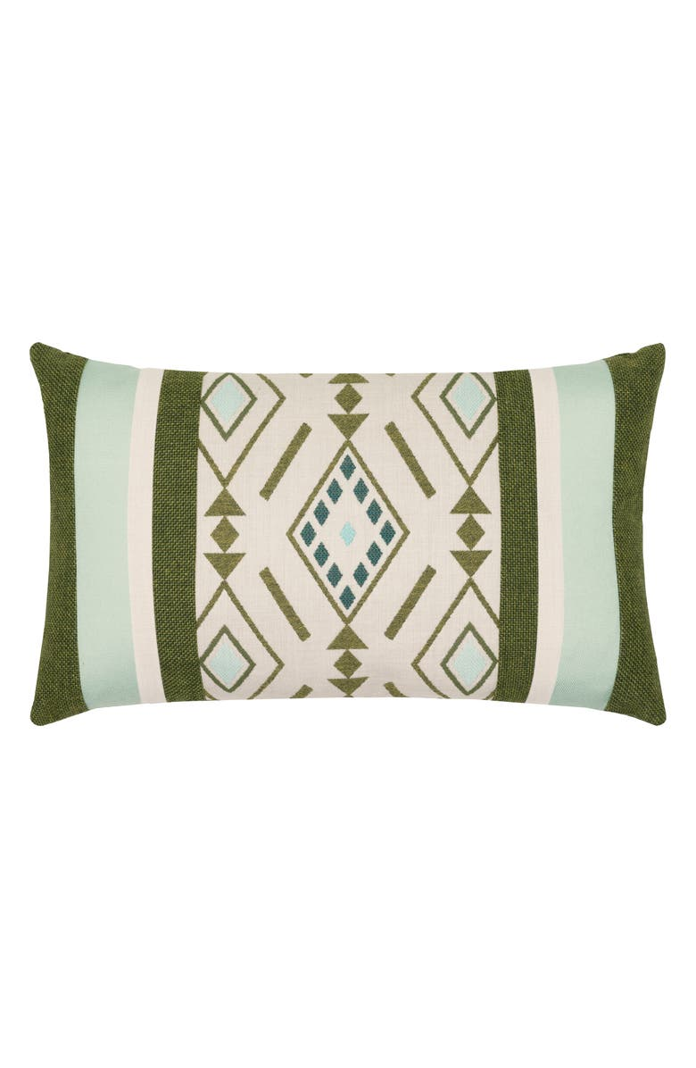 Elaine Smith Cusco Indoor Outdoor Lumbar Accent Pillow