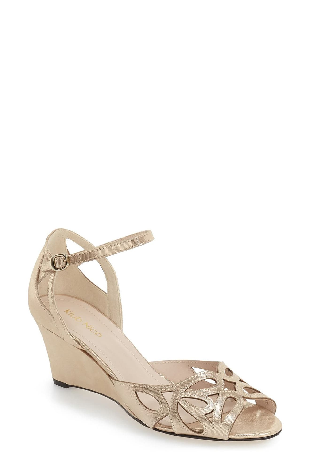 'Kismet' Wedge Sandal
