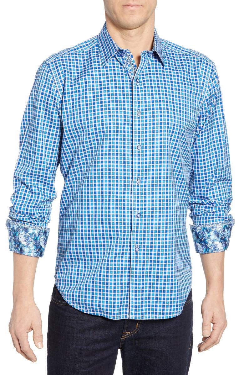 ROBERT GRAHAM Gainsford Classic Fit Check Shirt, Main, color, 400