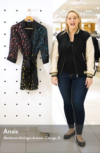 Raja Leopard Print Burnout Belted Minidress, sales video thumbnail