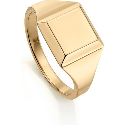 Monica Vinader Signature Signet Ring