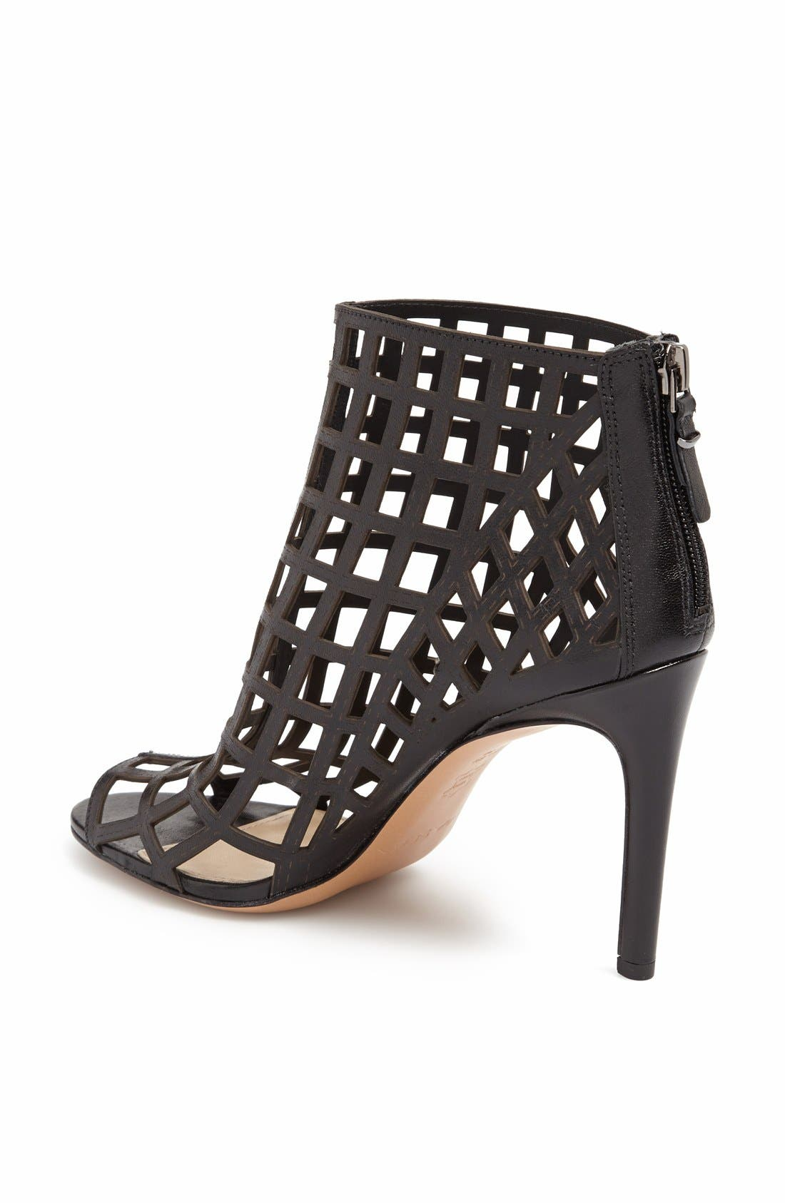 ,                             'Elenora' Cage Bootie,                             Alternate thumbnail 4, color,                             001