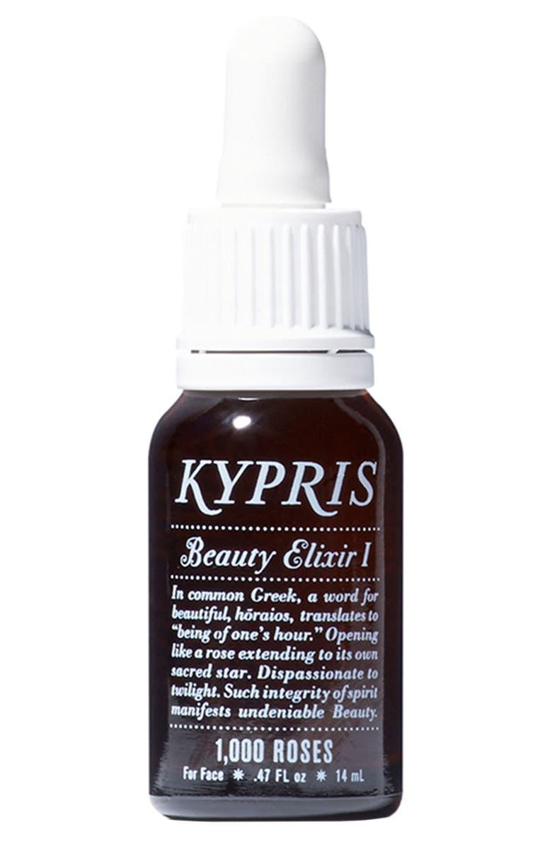 KYPRIS Beauty Beauty Elixir I: 1000 Roses Moisturizing Face Oil, Main, color, NO COLOR