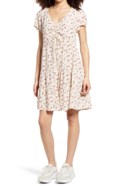 Image of Kirious Floral Print Minidress
