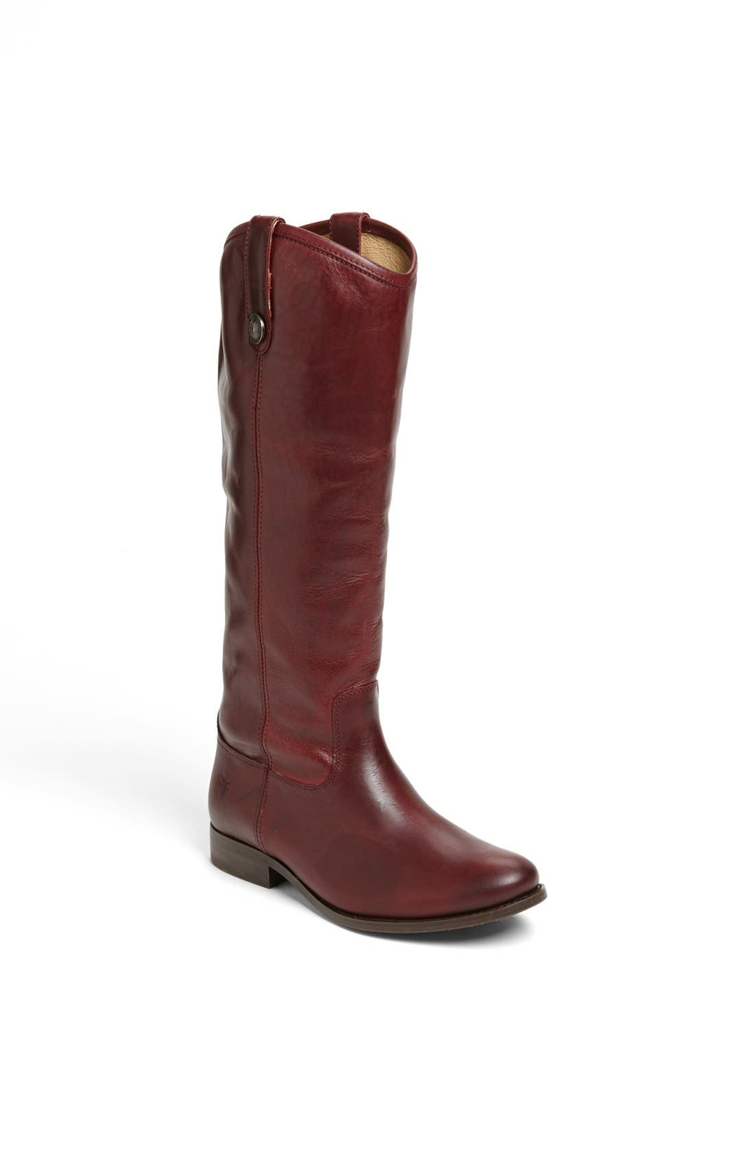 ,                             'Melissa Button' Leather Riding Boot,                             Main thumbnail 164, color,                             619