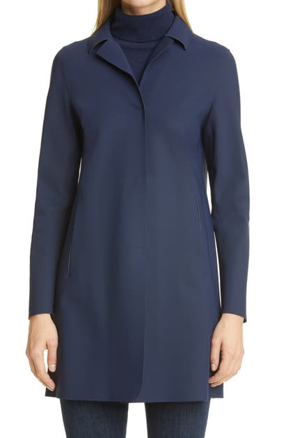 Herno Coats FIRST ACT STRETCH JERSEY COAT