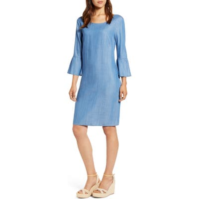 Tommy Bahama All Day Chambray Dress, Blue