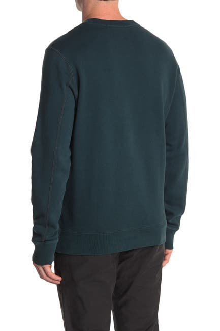 Image of Scotch & Soda Washed Graphic Crew Neck Sweater