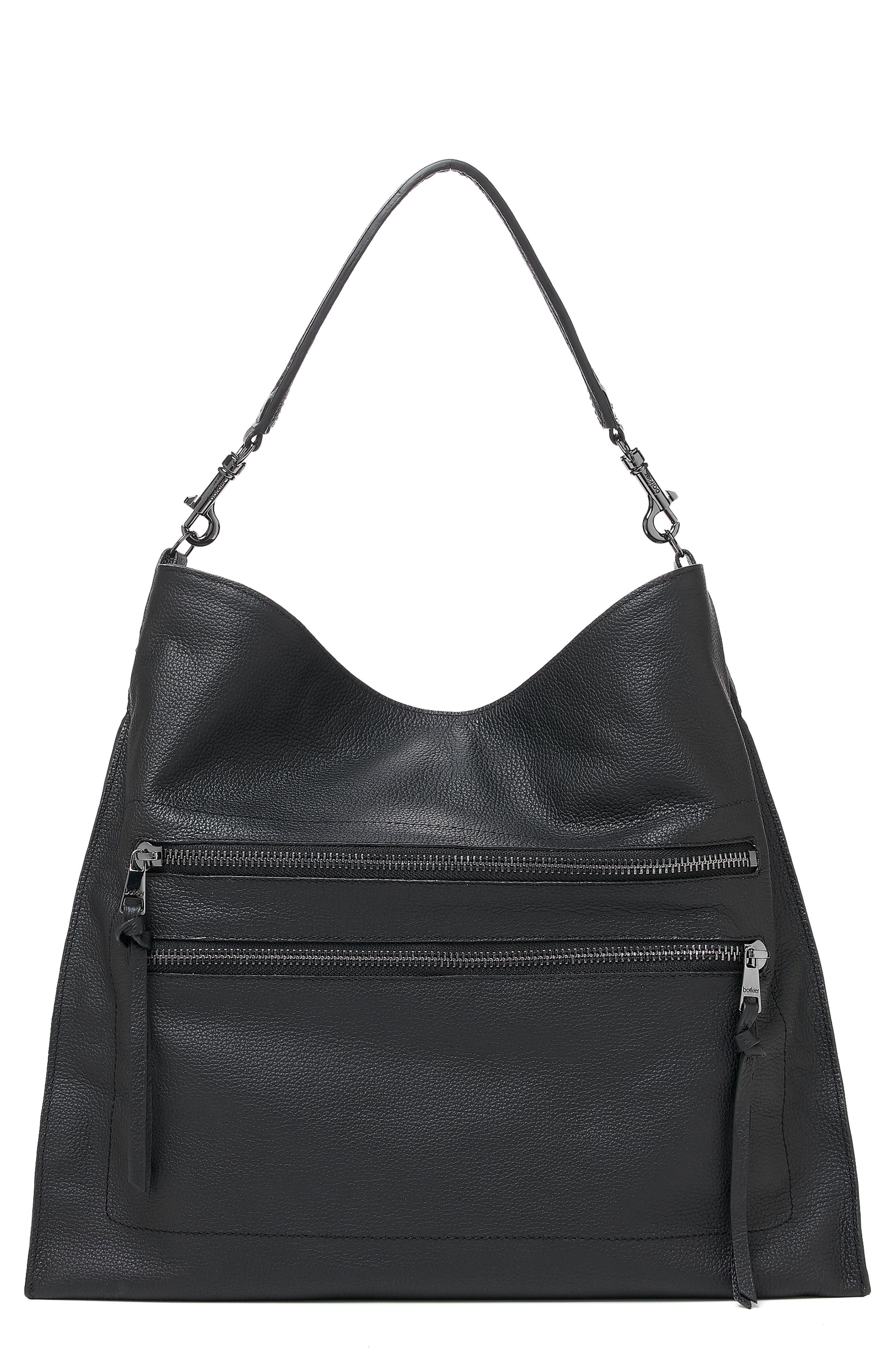 Large Chelsea Leather Hobo