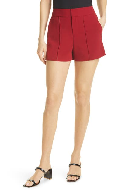 Alice And Olivia Downs DYLAN PINTUCK SHORTS