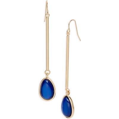 Halogen Stone Drop Earrings