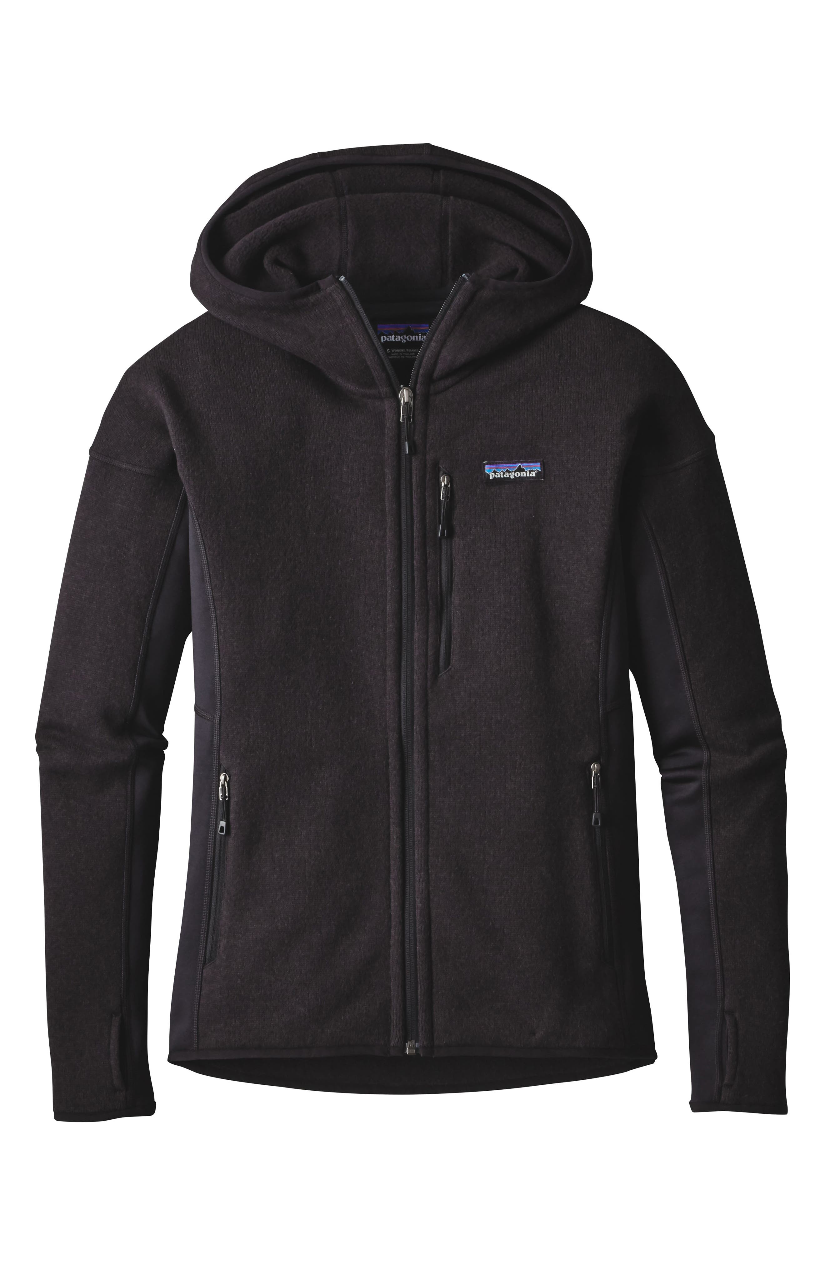 ,                             Performance Better Sweater Hoodie,                             Alternate thumbnail 7, color,                             001