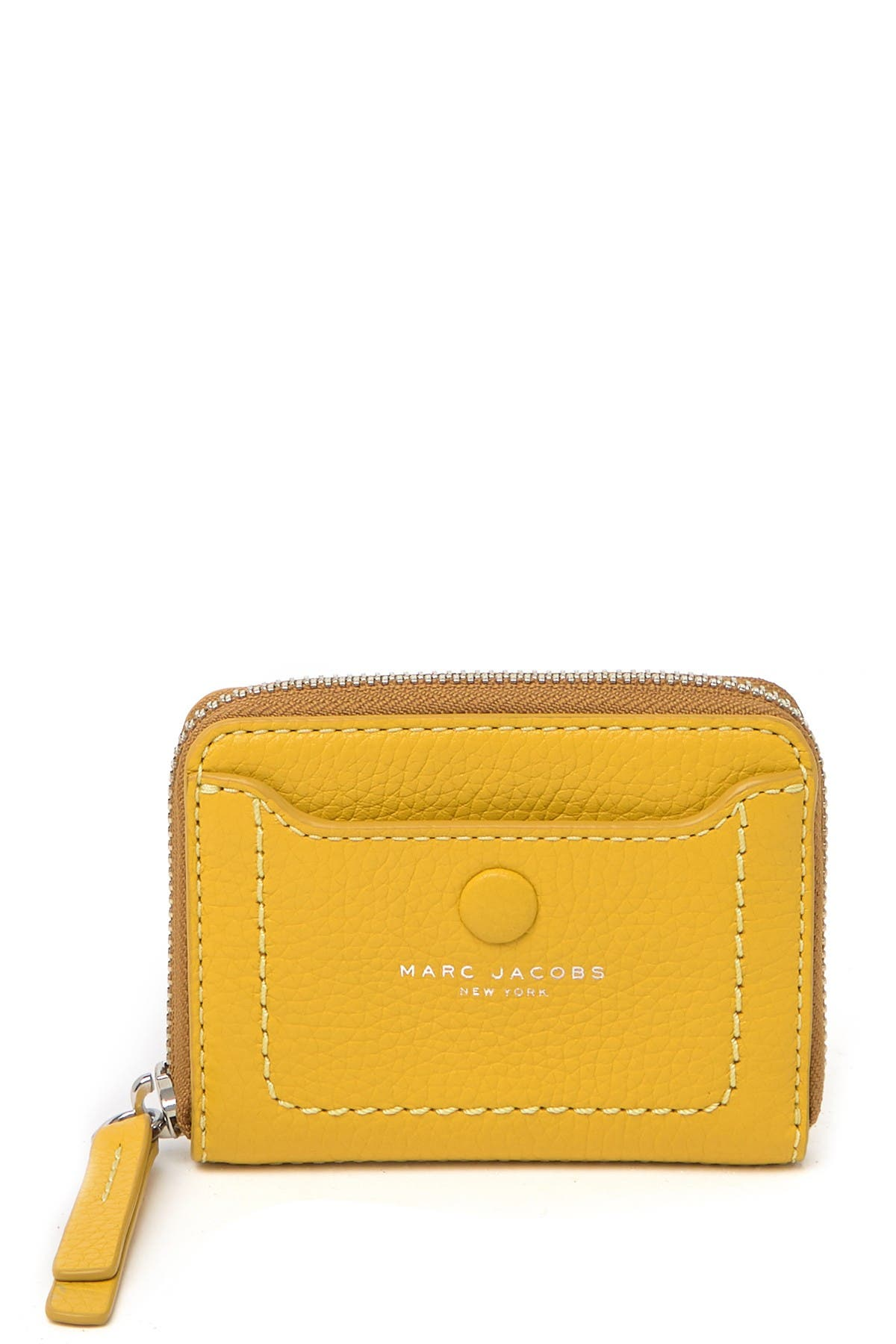 Image of Marc Jacobs Empire City Leather Zip Wallet