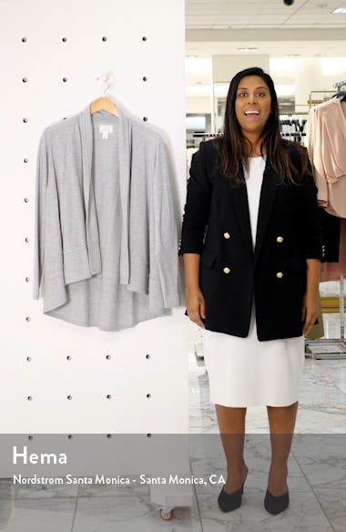 Open Front Knit Jacket, sales video thumbnail