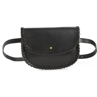 Madewell Whipstitch Belt Bag - Black