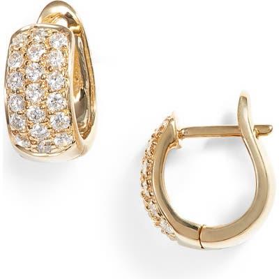 Dana Rebecca Designs Mini Diamond Hoop Earrings
