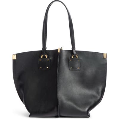 Chloe Vick Leather Tote - Black
