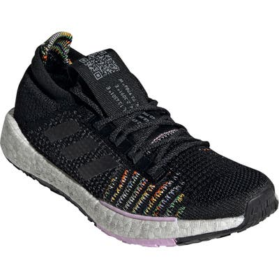 Adidas Pulseboost Hd Running Shoe, Black