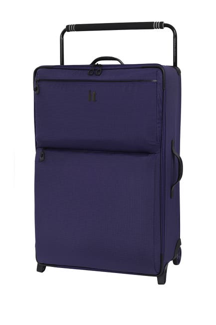 """Image of it luggage 32.7"""" World's Lightest Wide Handle Design Two Tone 2 Wheel Luggage"""