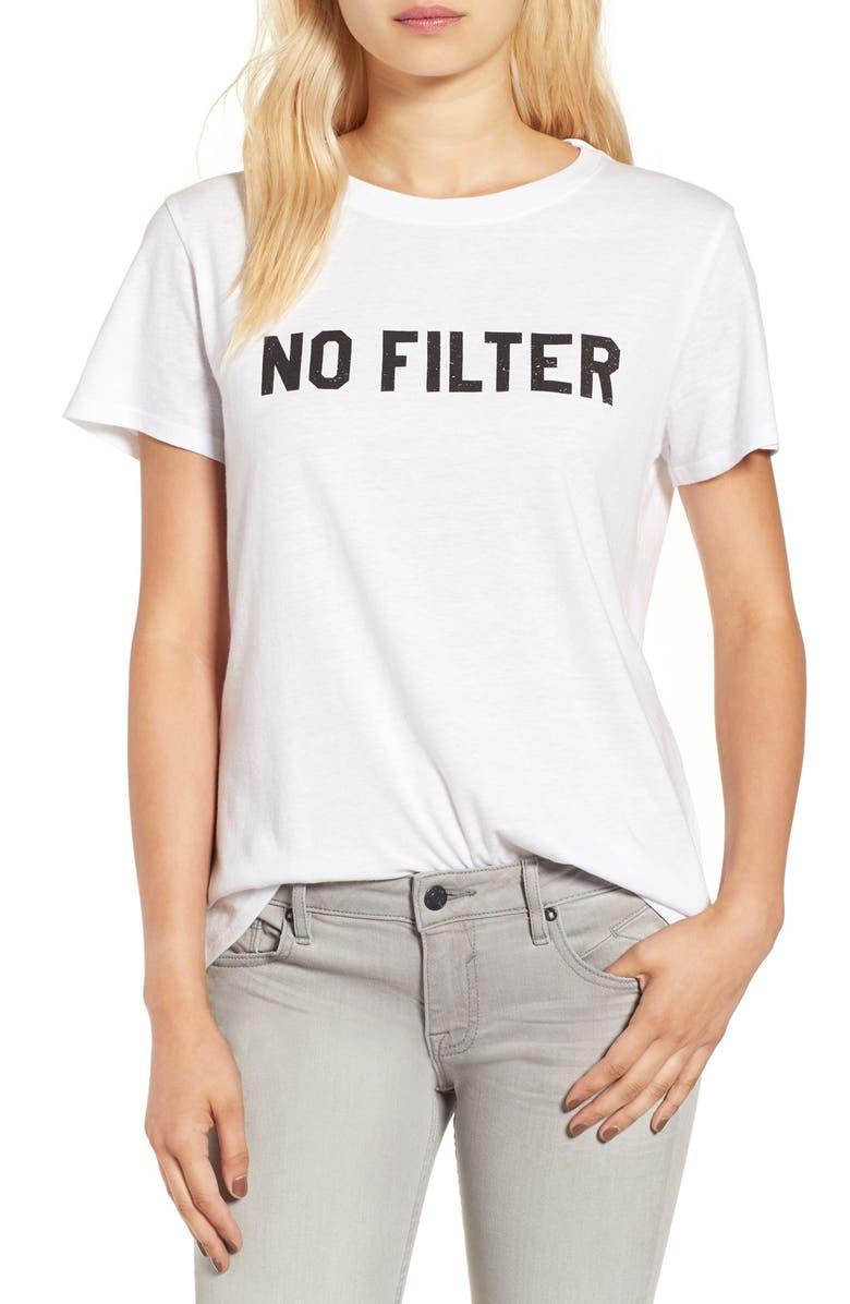SUB_URBAN RIOT 'No Filter' Graphic Tee, Main, color, 100