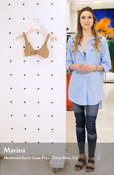Jacquard Bikini Top, sales video thumbnail