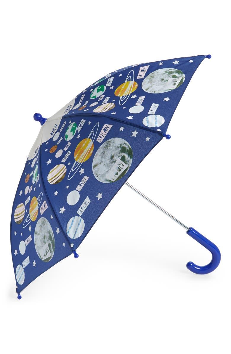 FLOSS & ROCK Universe Color Changing Umbrella, Main, color, 411