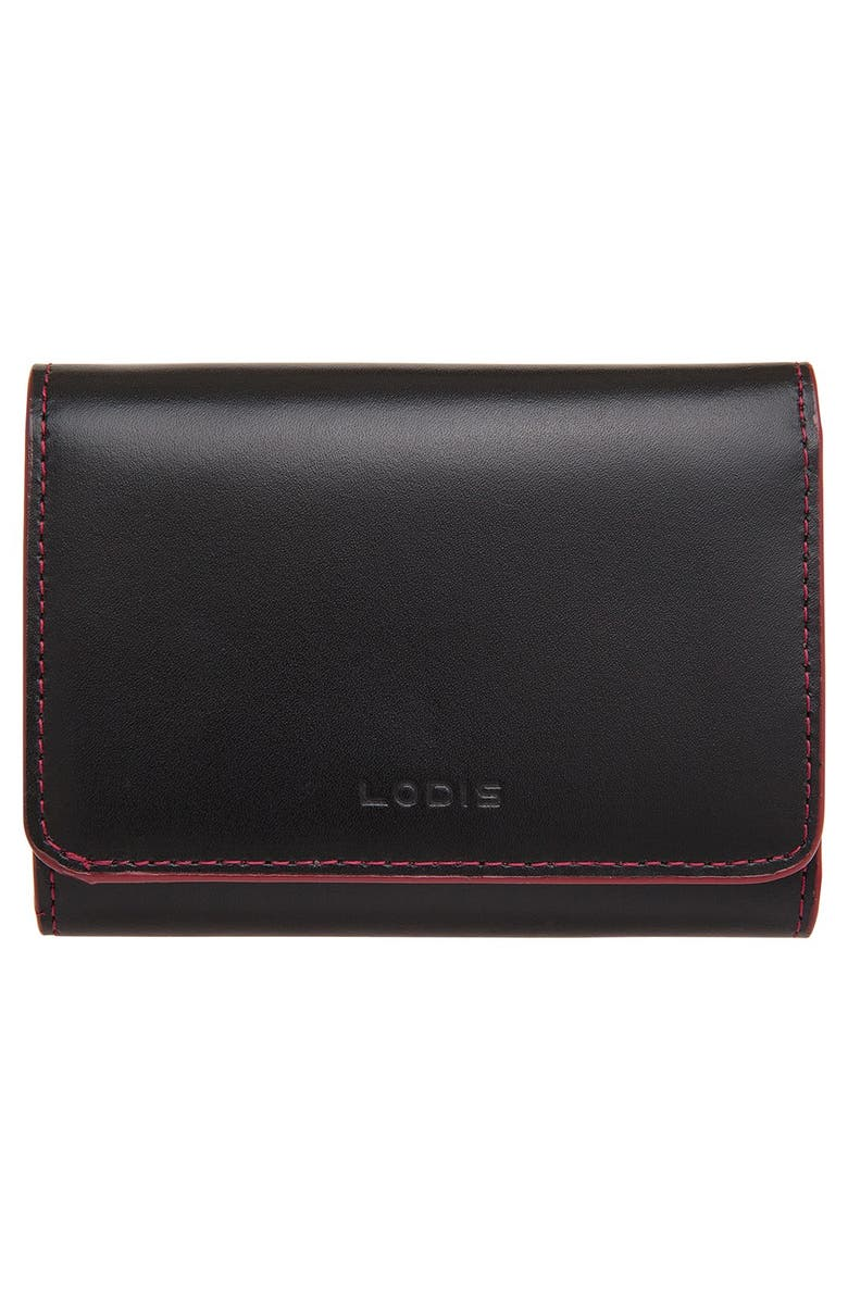 cd4f227b7d1 Lodis 'Audrey - Mallory' Leather French Wallet, Main, color, ...