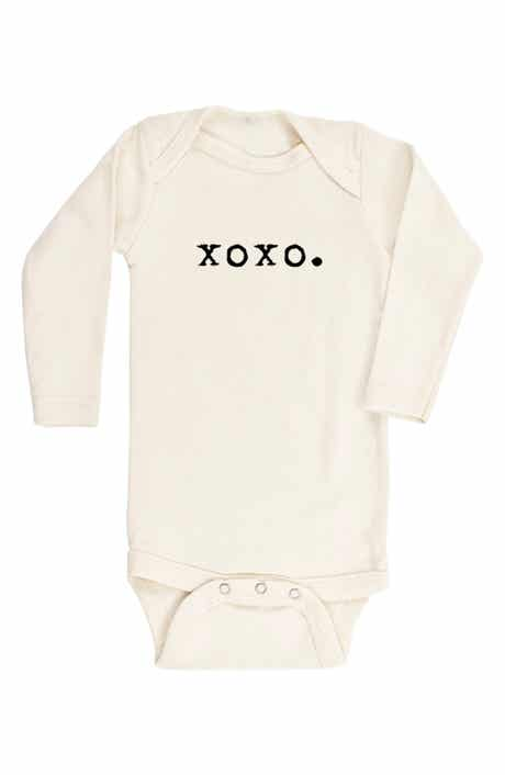 Tenth & Pine XOXO Organic Cotton Bodysuit (Baby)