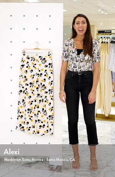 Frida Crop Wide Leg Trousers, sales video thumbnail