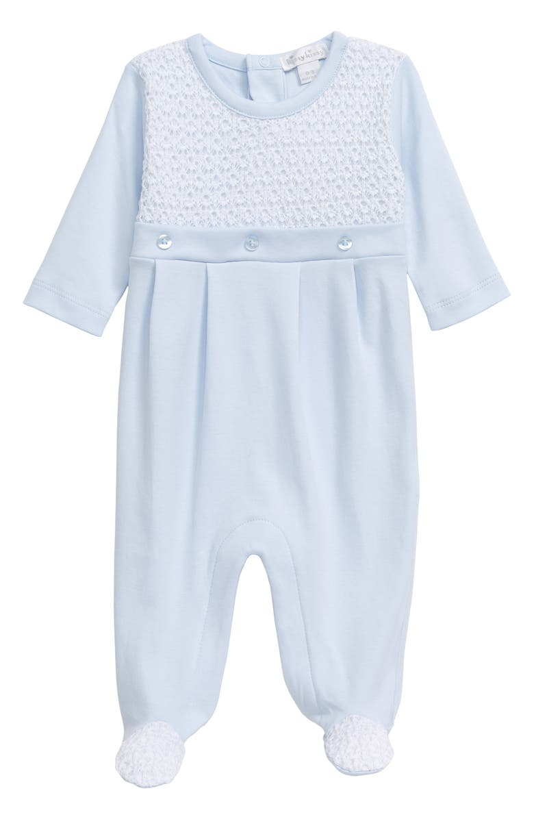 KISSY KISSY Take Me Home Footie, Main, color, LIGHT BLUE
