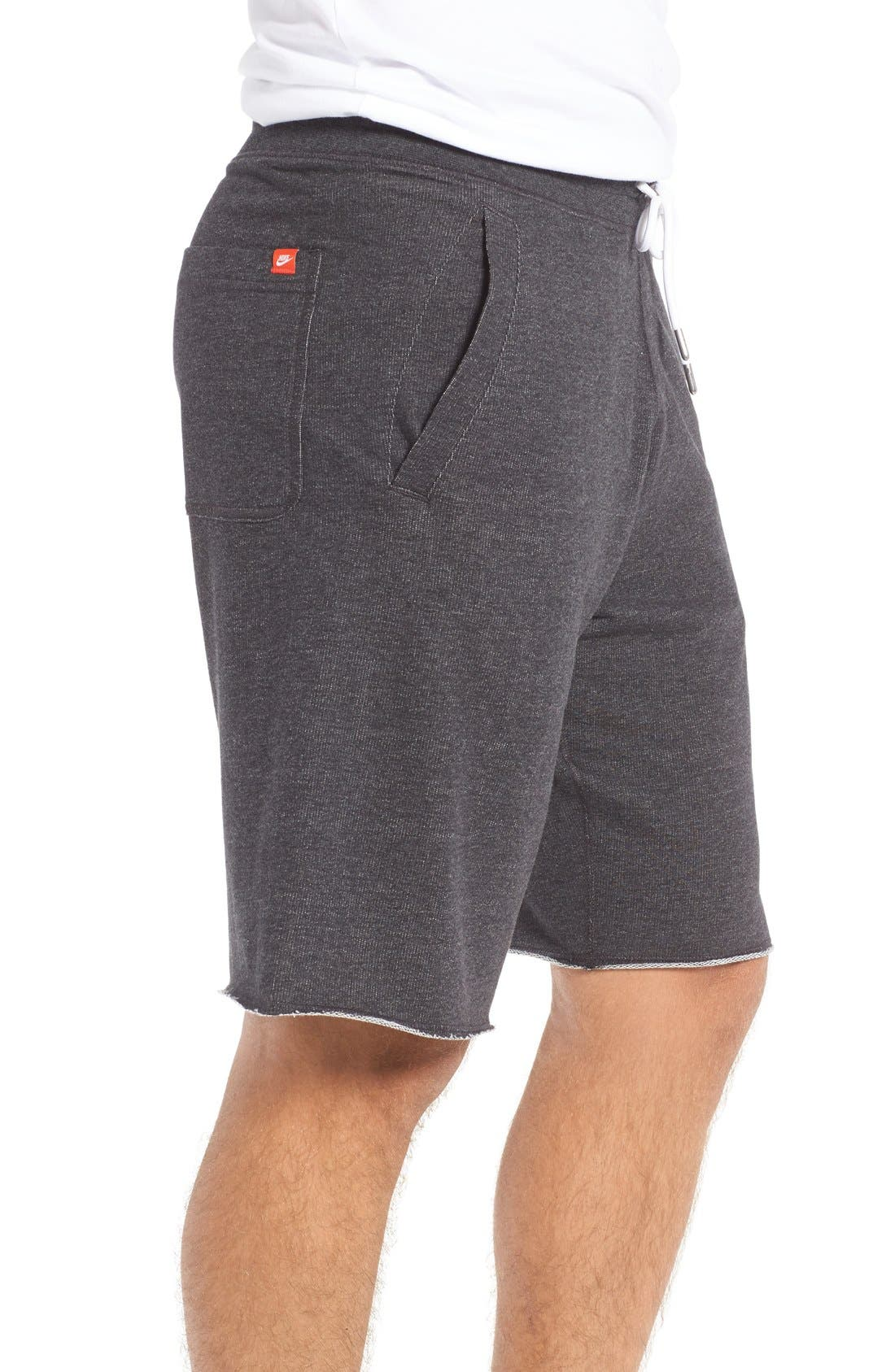 ,                             'NSW' Logo French Terry Shorts,                             Alternate thumbnail 17, color,                             032