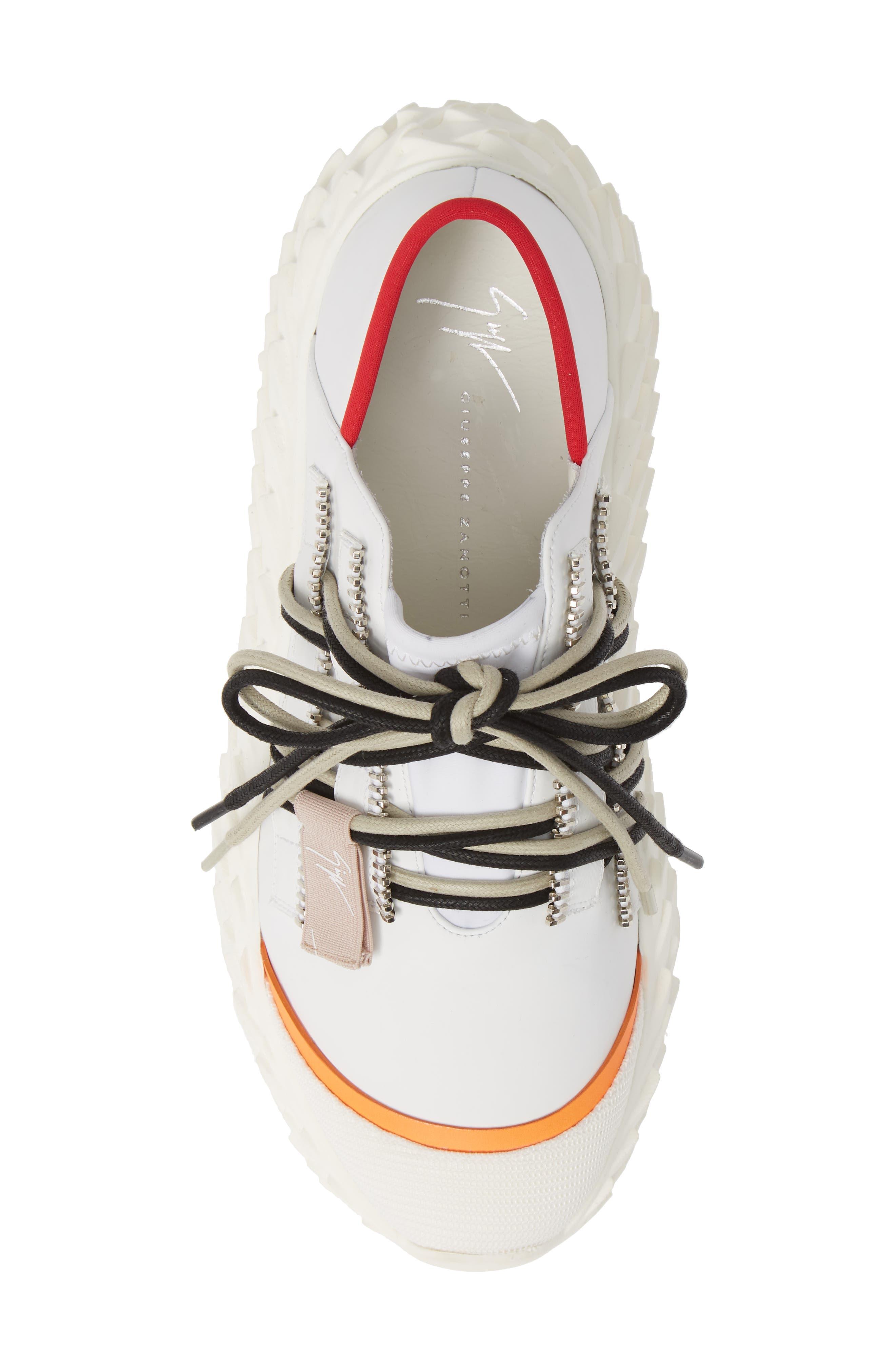 ,                             Scale Sole Sneaker,                             Alternate thumbnail 5, color,                             WHITE