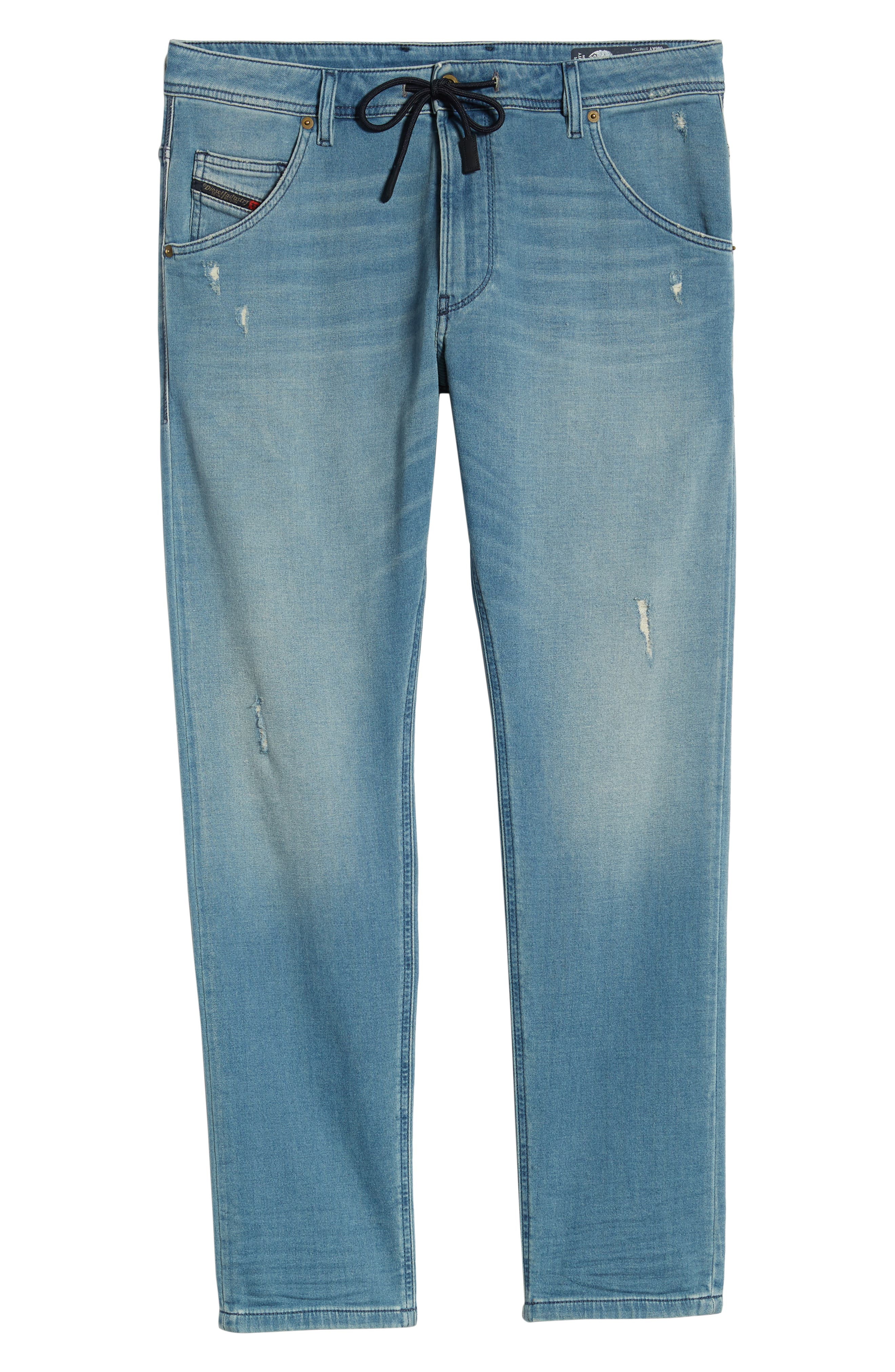 ,                             Krooley Jogg Slouchy Skinny Fit Jeans,                             Alternate thumbnail 7, color,                             086AY